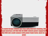 Aketek? Latest LCD Multimedia USB/SD/VGA/HDMI/AV/Micro USB Home Theater LED Digital Video Mini