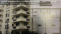 A vendre - appartement - COURBEVOIE (92400) - 3 pièces - 63m²