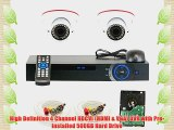 GW Security VD2C4CH891CVI 4-Channel 1080p Preview 720p Realtime Varifocal Zoom Night Vision
