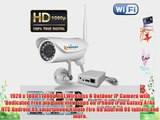 TriVision NC-336W HD 1080P IP Security Camera Outdoor Weatherproof Wi-Fi Wireles with Facial