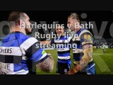 watch Harlequins vs Bath Rugby live match on uk tv
