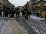 Ecossais Hawick pipe band Bailleul 2007 mardi