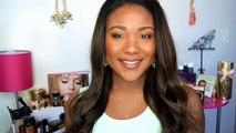 Makeup Tips For Black Women - Simple Everyday Routine for DARK SKIN EYE MAKEUP TUTORIAL!