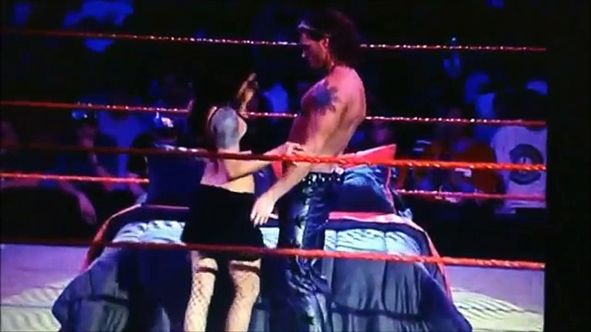 Edge And Lita In Bed In The Ring Full Youtube Video