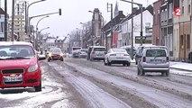 La neige a semé la pagaille aussi dans le Nord-Pas-de-Calais et la Picardie