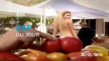 ZAP DU JOUR #44 : Charlotte McKinney fait voir ses melons / Fail Base jump / Art Vache / Ramasser un pote bourré