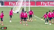 Real Madrid: Lucas Silva fue vacilado por sus nuevos compañeros (VIDEO)
