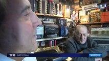 Jean et Bernard, musiciens et collectionneurs d'accordéons
