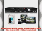 USG 16 Channel Security DVR   2TB HDD: 960H 1080P 480FPS Up To 8TB HDD 16 Ch Audio In 3 Video