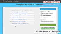 Envelope Printer Crack [Download Here 2015] - video dailymotion