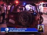 Accidente deja seis personas heridas en El Alto de Guadalupe