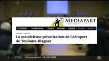 Privatisation de l'Aéroport Toulouse-Blagnac selon Mauduit