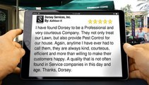 5-Star Rating for Dorsey Services, Inc. by Kathleen H.         Terrific         Five Star Review by Kathleen H.