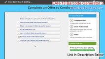 EAN-13 Barcode Generator 2 Download (Instant Download 2015)