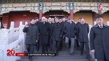 """Manuel Valls en Chine : """" la France est ouverte aux entreprises chinoises"""""""