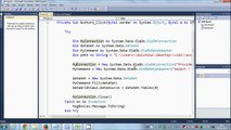 Visual Basic  NET Tutorial 53 -How to import excel file to