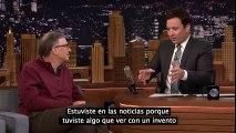 Bill Gates obliga a un presentador de tv tomar agua que antes era heces
