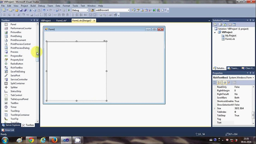 Visual Basic  NET Tutorial 31 - How to Make a Simple HTML Editor in VB NET