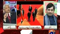 Masood Sharif Khan Khattak in Capital Talk on Geo with Hamid Mir (27 Jan, 2015) Part 2