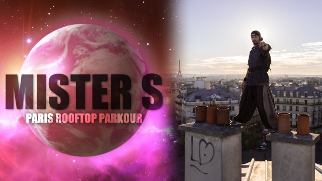 Parkour in Paris with Yoann Zephyr Leroux with Mister S