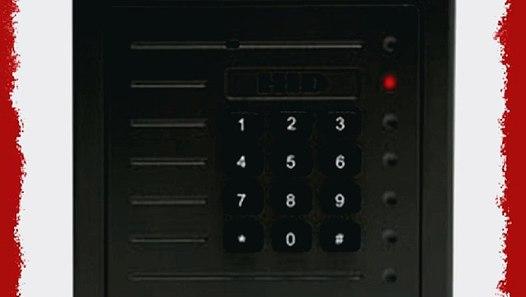 HID ProxPro Proximity Card Reader 5355AGK00 w/Keypad - video
