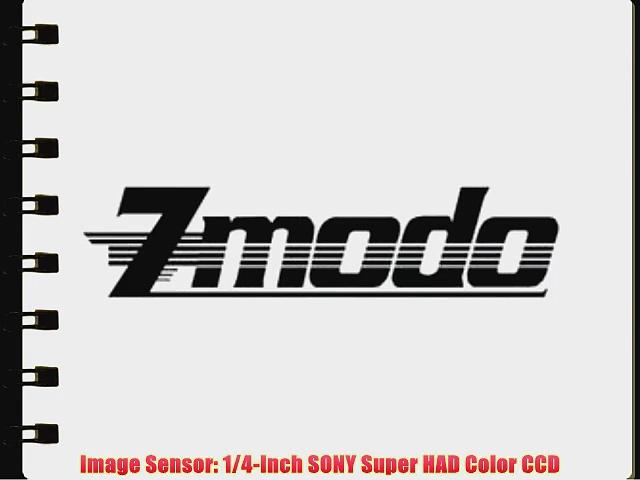 Zmodo 420TVL 4-88mm High Speed PTZ 22X Zoom Outdoor Weatherproof Security Camera CM-Z2213GY