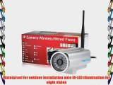 (Promotion) HooToo? HT-IP212 Outdoor Wireless Network Surveillance IP Camera M-JPEG Video Format
