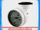 R-Tech Extreme Long Range IR Illuminator with 60 pcs IR LED Water Resistant IR distance of