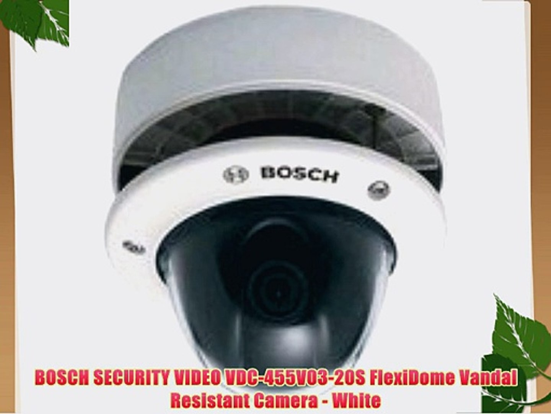 BOSCH SECURITY VIDEO VDC-455V03-20S FlexiDome Vandal Resistant Camera on