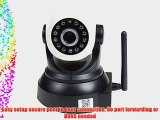VideoSecu IP Wireless Video Baby Monitor Security Camera with Pan Tilt Wi-Fi for iPhone iPad