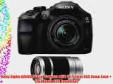 Sony Alpha A3000 Digital Camera with 18-55mm OSS Zoom Lens   55-210mm OSS Zoom Lens