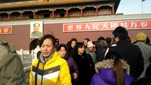 Tiananmen Square forbidden city gate Beijing China Aijaz Bhayo 21-12-2012