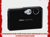 Nikon Coolpix S3 6MP Slim-Design Digital Camera with 3x Optical Zoom (Includes Dock)
