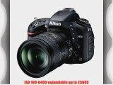 Nikon D610 24.3 MP CMOS FX-Format Digital SLR Kit with 28-300mm f/3.5-5.6G ED VR AF-S Nikkor
