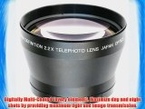 Neewer? 67MM Professional High Definition 2.2X Telephoto Lens for Canon Nikon Pentax Olympus
