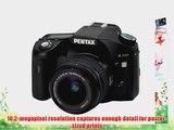 Pentax K200D 10.2MP Digital SLR Camera with Shake Reduction 18-55mm f/3.5-5.6 Lens