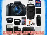 Canon EOS Rebel T5i Digital Camera SLR Kit With Canon EF-S 18-55mm IS II STM Lens   Canon EF