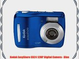 Kodak EasyShare CD24 12MP Digital Camera - Blue