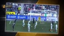 CRAZY Cristiano Ronaldo FOUL Red Card Cordoba vs Real Madrid 1 2 ( 24/01/2015 )