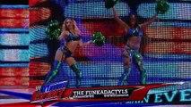 The Funkadactyls vs. Nikki Bella and Alicia Fox