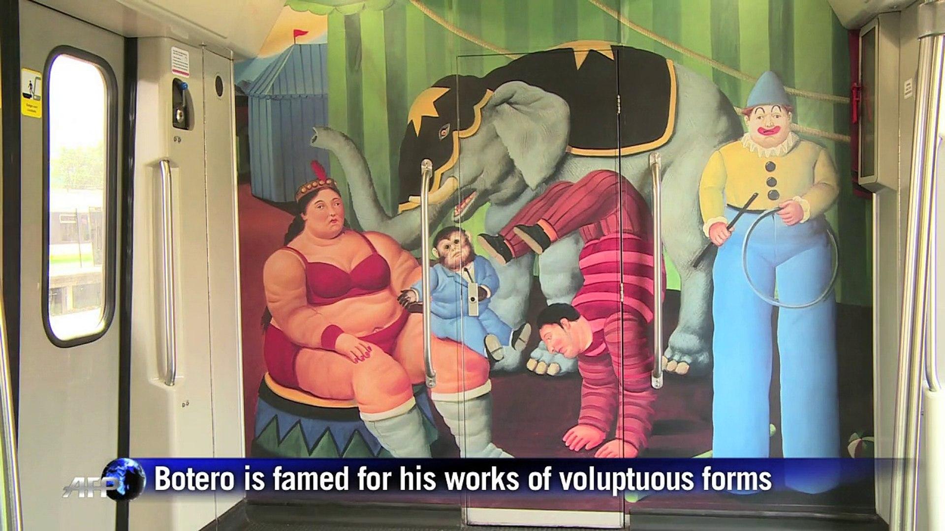 Colombia's Botero opens circus exhibit