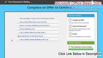 Microsoft Office Basic 2007 Keygen - microsoft office basic 2007 product key 2015