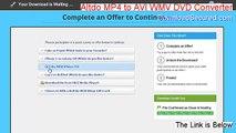Altdo MP4 to AVI WMV DVD Converter&Burner Key Gen [Legit Download 2015]