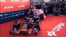 F1 2015 Car Launches: Toro Rosso Ferrari Sauber Mercedes