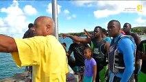 5ème manche du championnat de la Guadeloupe de scooter des mers
