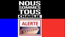 Télévision-Bordeaux-33 expulsion du squat pont st jean,Je suis Charlie Je suis tout les causes