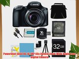 Canon PowerShot SX60 HS Digital Camera 32GB Ultimate Bundle Includes Camera 32GB SD Memory