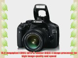 Canon EOS 550D (European EOS Rebel T2i) 18 MP CMOS APS-C Digital SLR Camera with 3.0-Inch LCD