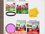 77mm All Purpose Fluorescent (FLD) Multi-Coated UV Filter and UV Protective All-Purpose Filter