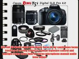 Canon Rebel T5i Digital SLR Camera with Canon EF-S 18-55mm f/3.5-5.6 IS II SLR Lens   Canon